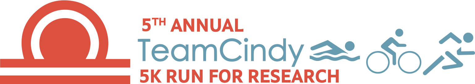 5th Annual TeamCindy 5K Run for Research - Saturday, September 15, 2018